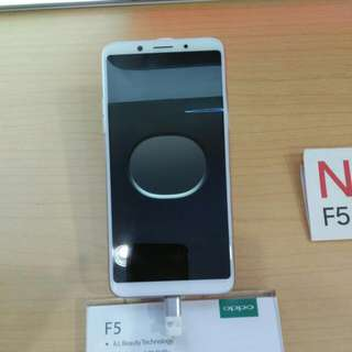 Oppo F5 Promo Cicilan Bunga 0.99%
