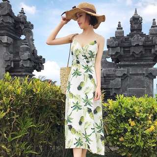 (ReadyStock) Floral Maxi Dress (Free Mailing)