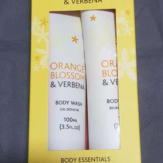 Orange Blossom - Body wash n butter set