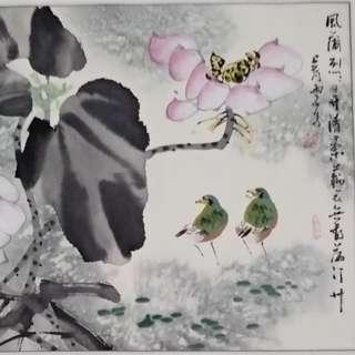 Chinese Art Painting 纯手绘名家字画 山水画 花鸟画 风水画 中国画 收藏 投资 增值 保值。
