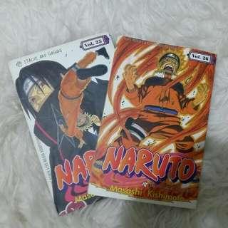 [Beli/Barter] Komik Naruto Vol 25 & 26