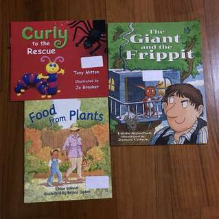Preschool Readers - 3-6yo Rigby Literacy Early Stages