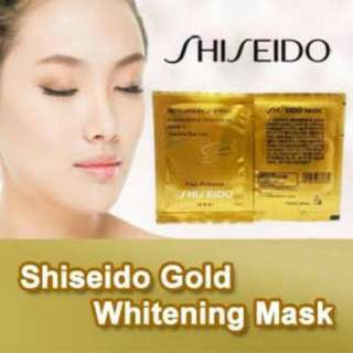 SHISEIDO GOLD MASK