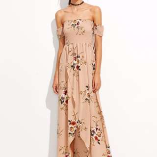 Instock Floral Maxi Dress (Free Mailing)