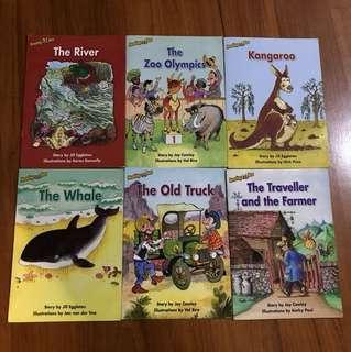 Reading Bee Series Readers