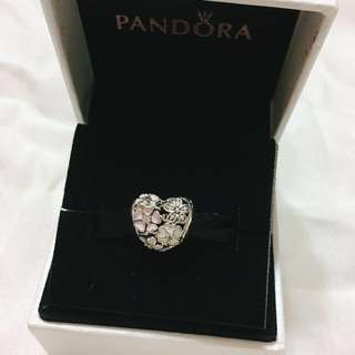 Pandora Poetic Blooms Charm from Australia (Bracelet not included)