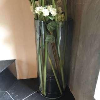 靚料花瓶連假花 x4