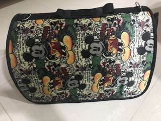 Mickey Mouse Pet carrier Bag of size : 40Lx21Wx27H