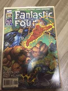 Fantastic Four (Heroes Reborn) #1