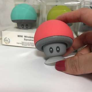 Brand new! Bluetooth Wireless Speaker! Cute Mini Mushroom