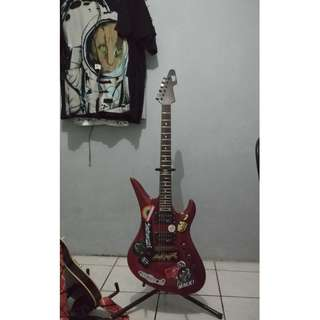 SGR by Schecter Revenger red