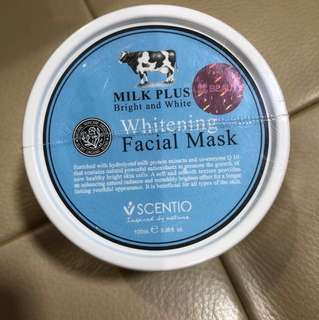 Milk Plus Whitening Facial Mask