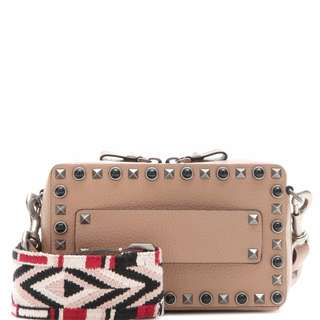 Valentino Garavani Rolling Rockstud leather shoulder bag
