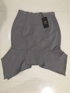 Mermaid skirt *new* Grey