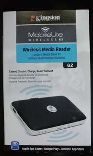 Kingston Wireless G2 無線讀卡器