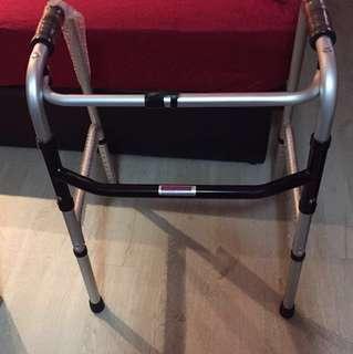 Elderly walking frame