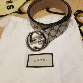 Gucci女裝皮帶 99%新