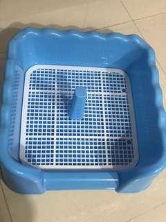 Pet Pee Pee training tray, size : 40W x 40L x 14D