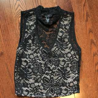 Lace Crop Top (Small)