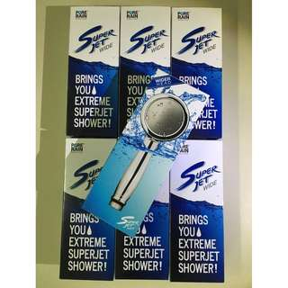 PURE RAIN Superjet WIDE Shower Head (Made in South Korea)