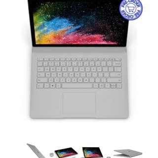 PO: MICROSOFT SURFACE BOOK 2