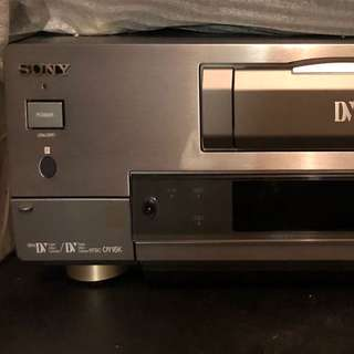 Sony DV DHR 1000 with remote
