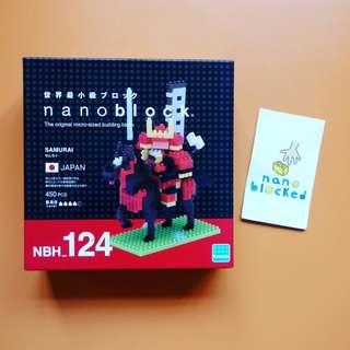 nanoblock NBH_124 Samurai 日本武士