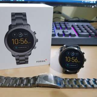 [USED] FOSSIL GEN 3 SMARTWATCH - Q EXPLORIST STAINLESS STEEL