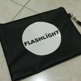 Clutch black flashlight