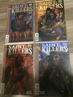 Preacher Special: Saint of Killers issues #1-#4