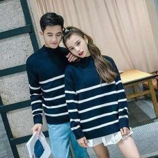 Blue Strips Sweater