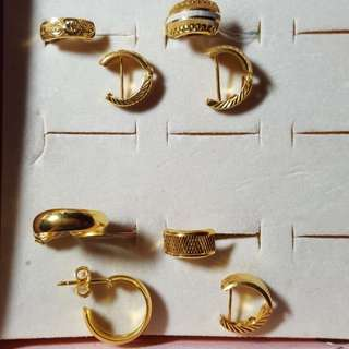 916 earrings@ current gold price