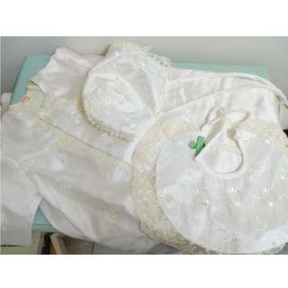 Baby gown set 15% discount
