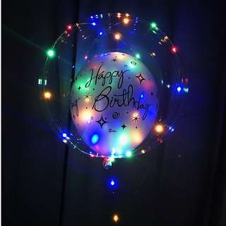 "18"" LED Balloon in Balloon"