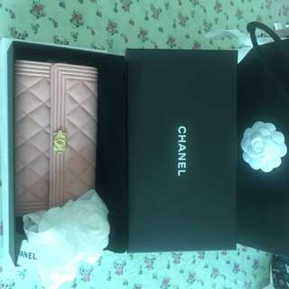 Boy Chanel Wallet - Pink