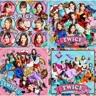 [WTB] TWICE - CANDY POP