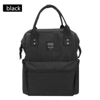 ❤On-hand: Baby Diaper Bag / Mommy Nursing Backpack ( Black)