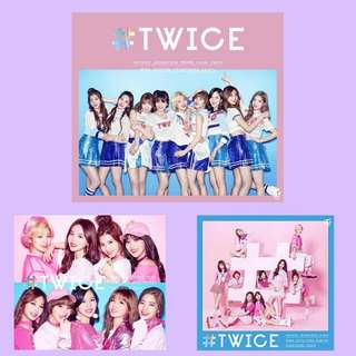 [WTB] TWICE - #TWICE JAPAN DEBUT ALBUM
