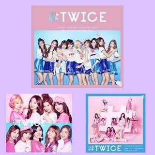 [WTB] TWICE - #TWICE JAPAN DEBUT ALBUM