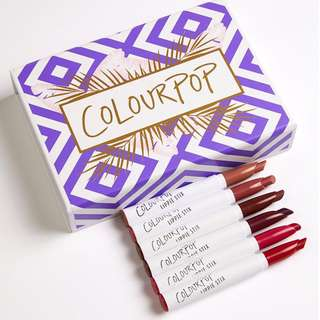 <SALE> Colourpop Staycation Lippie Stix Half Set