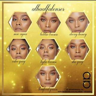 Alha Alfa Cosmetic Lens