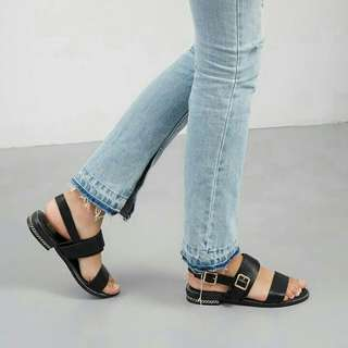 Vianza Sandals Bymay BLACK