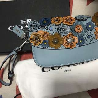 Coac clutch with tea rose 100%new