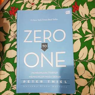 Zero to One by Peter Thiel (Indonesia)