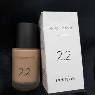 Innisfree My Foundation 2.2 N23