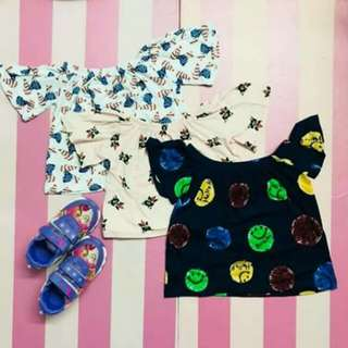 3 FOR 240 Trendy Tops for kids (boy/girl)
