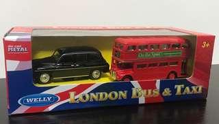 (罕有車仔)London bus &taxi