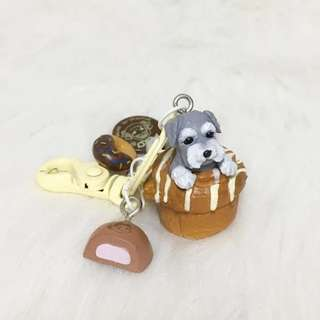 雪納瑞/寵物/狗 匙扣