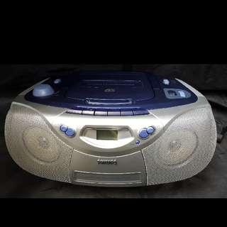 Philips (菲利蒲) 手提CD/Casette/Radio機