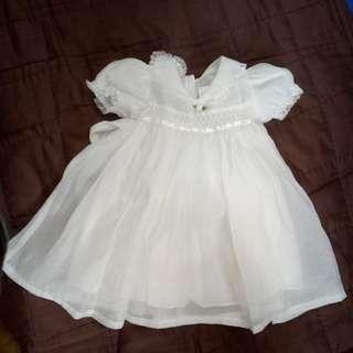 Pre loved BAPTISMAL DRESS